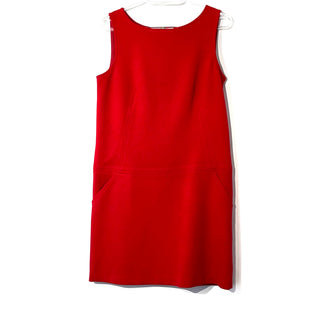 Primary Photo - BRAND: ANN TAYLOR LOFT STYLE: DRESS SHORT SLEEVELESS COLOR: RED SIZE: S /4SKU: 262-26275-74044