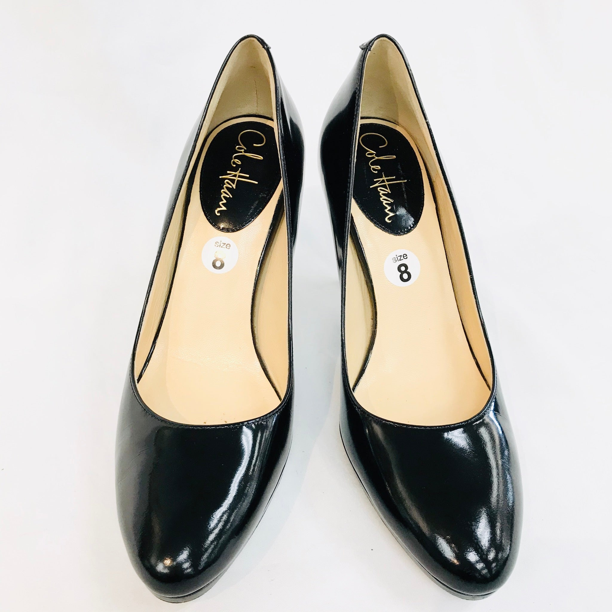 Primary Photo - BRAND: COLE-HAAN <BR>STYLE: SHOES LOW HEEL <BR>COLOR: BLACK <BR>SIZE: 8 <BR>SKU: 262-26211-128105<BR>- AS IS -