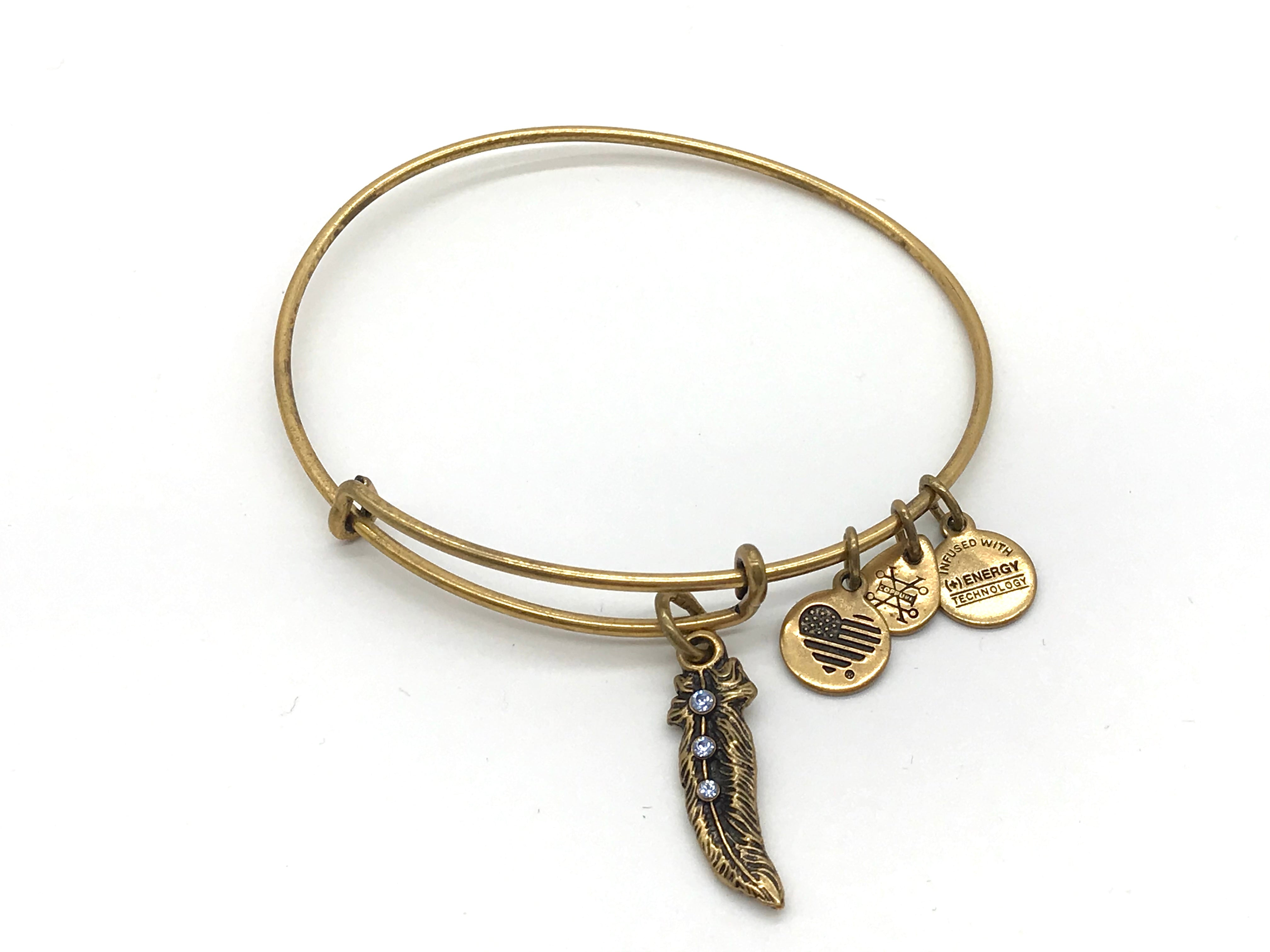 Primary Photo - BRAND: ALEX AND ANI <BR>STYLE: BRACELET <BR>COLOR: GOLD <BR>SKU: 262-26275-62406<BR>AS IS