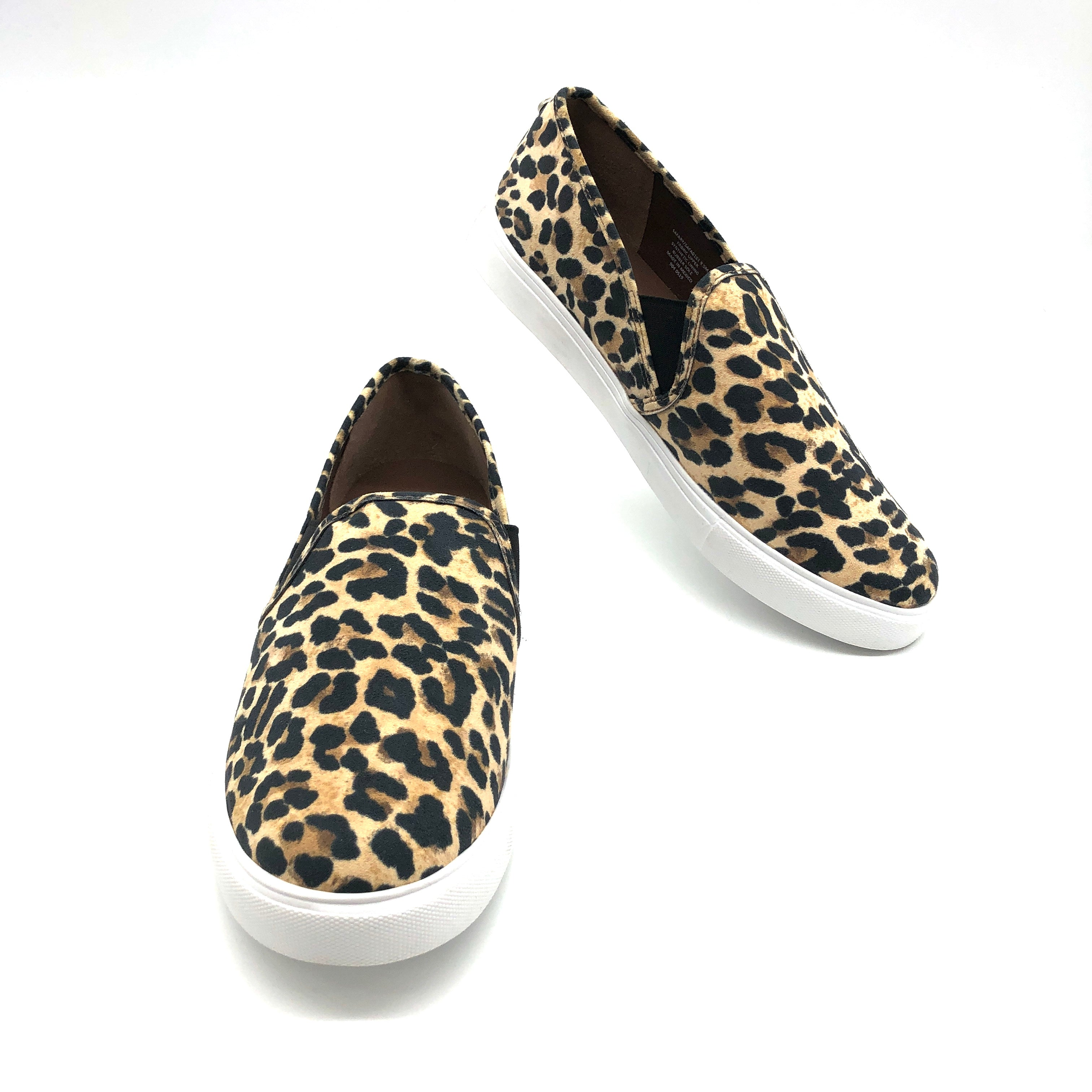 Primary Photo - BRAND: STEVE MADDEN <BR>STYLE: SHOES FLATS <BR>COLOR: ANIMAL PRINT <BR>SIZE: 9.5 <BR>SKU: 262-26275-75062<BR><BR>AS IS FINAL SALE <BR>LIKE NEW <BR>