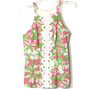 Primary Photo - BRAND: LILLY PULITZER STYLE: TOP SLEEVELESS COLOR: GREEN PINKSIZE: S /6SKU: 262-262101-2900GENTLEST FADE AS IS