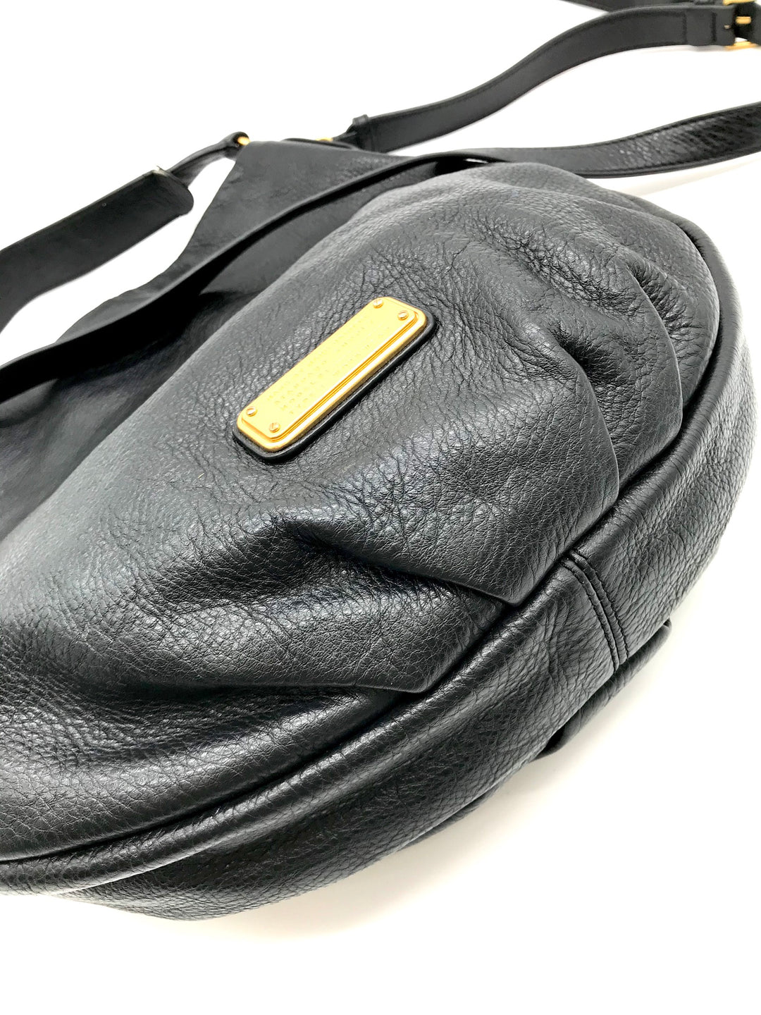 Photo #2 - BRAND: MARC BY MARC JACOBS <BR>STYLE: HANDBAG DESIGNER <BR>COLOR: LEATHER <BR>SIZE: LARGE <BR>SKU: 262-26241-32891<BR>SOME MARKS INSIDE - AS IS<BR>DESIGNER BRAND - FINAL SALE