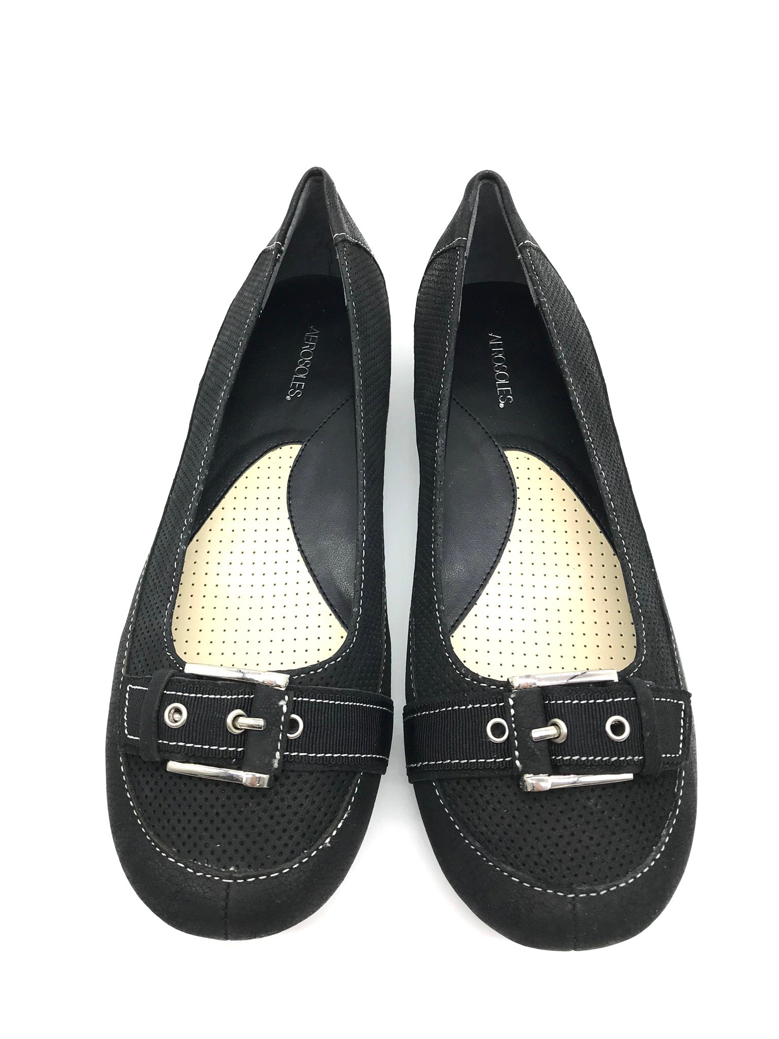 Photo #1 - BRAND: AEROSOLES <BR>STYLE: SHOES FLATS <BR>COLOR: BLACK <BR>SIZE: 8 <BR>SKU: 262-26275-69120<BR>NEW WITHOUT TAGS