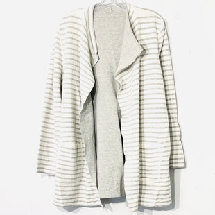 Primary Photo - BRAND:    CLOTHES MENTOR STYLE: SWEATER CARDIGAN LIGHTWEIGHT COLOR: STRIPED SIZE: L/XLOTHER INFO: SKU: 262-26275-74736REVERSIBLE