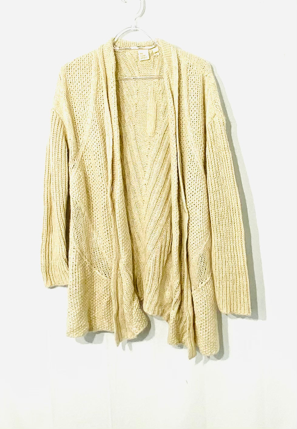 Primary Photo - BRAND: EILEEN FISHER THE FISHER PROJECT <BR>STYLE: SWEATER LIGHTWEIGHT <BR>COLOR: BEIGE <BR>SIZE: M <BR>SKU: 262-26275-71452<BR>35% LINEN<BR>18% MOHAIR<BR>DESIGNER FINAL