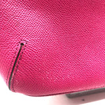 "Photo #2 - BRAND: COACH<BR>STYLE: HANDBAG DESIGNER <BR>COLOR: HOT PINK <BR>SIZE: SMALL <BR>SKU: 262-26275-74425<BR>AS IS WEAR <BR>DESIGNER BRAND FINAL SALE <BR>APPROX 10""X8""X4"""