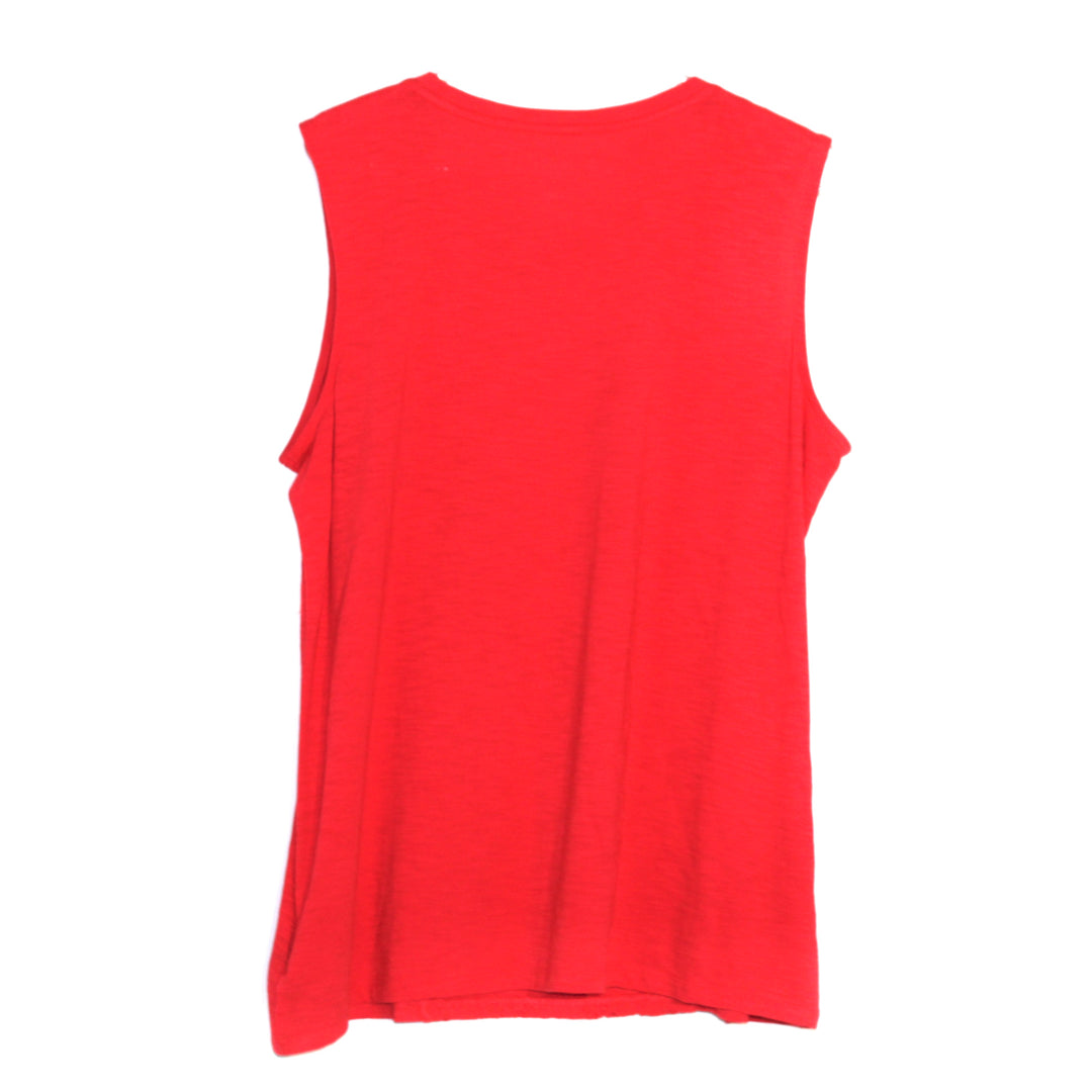 Photo #1 - BRAND: TALBOTS <BR>STYLE: TOP SLEEVELESS <BR>COLOR: RED <BR>SIZE: 1X <BR>SKU: 262-26211-124526