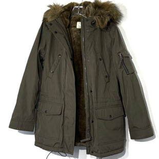 Primary Photo - BRAND:    S 13/NYCSTYLE: COAT COLOR: OLIVE SIZE: MOTHER INFO: 13NYC - SKU: 262-26275-74743FAUX FUR LINED DESIGNER FINAL