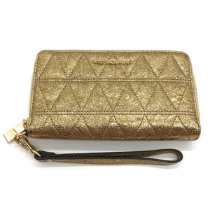 Primary Photo - BRAND: MICHAEL KORS STYLE: WALLET COLOR: GOLD SIZE: MEDIUM SKU: 262-26241-45389DESIGNER BRAND FINAL SALE AS IS
