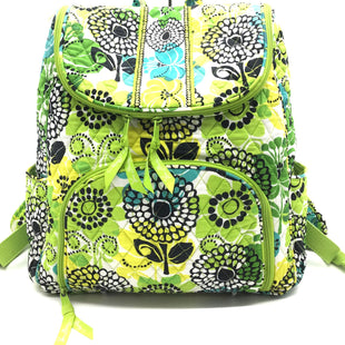 Primary Photo - BRAND: VERA BRADLEY STYLE: BACKPACK COLOR: LIME GREEN SIZE: MEDIUM SKU: 262-26211-139531AS IS