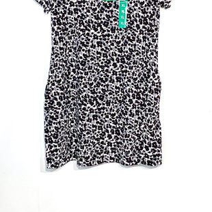 Primary Photo - BRAND: ELLEN TRACY STYLE: DRESS SHORT SHORT SLEEVE COLOR: ANIMAL PRINT SIZE: XL SKU: 262-26211-14018194% COTTON6% SPANDEX
