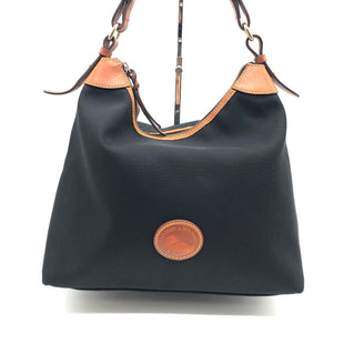 "Primary Photo - BRAND: DOONEY AND BOURKE STYLE: HANDBAG DESIGNER COLOR: BLACK SIZE: SMALL OTHER INFO: AS IS SKU: 262-26241-46856APPROX 12""L X 12""H X 7""D"