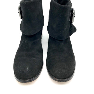 Primary Photo - BRAND: COACH STYLE: BOOTS ANKLE COLOR: BLACK SIZE: 7.5 SKU: 262-26275-54673SOME WEAR AROUND THE TOES - AS ISDESIGNER BRAND - FINAL SALE
