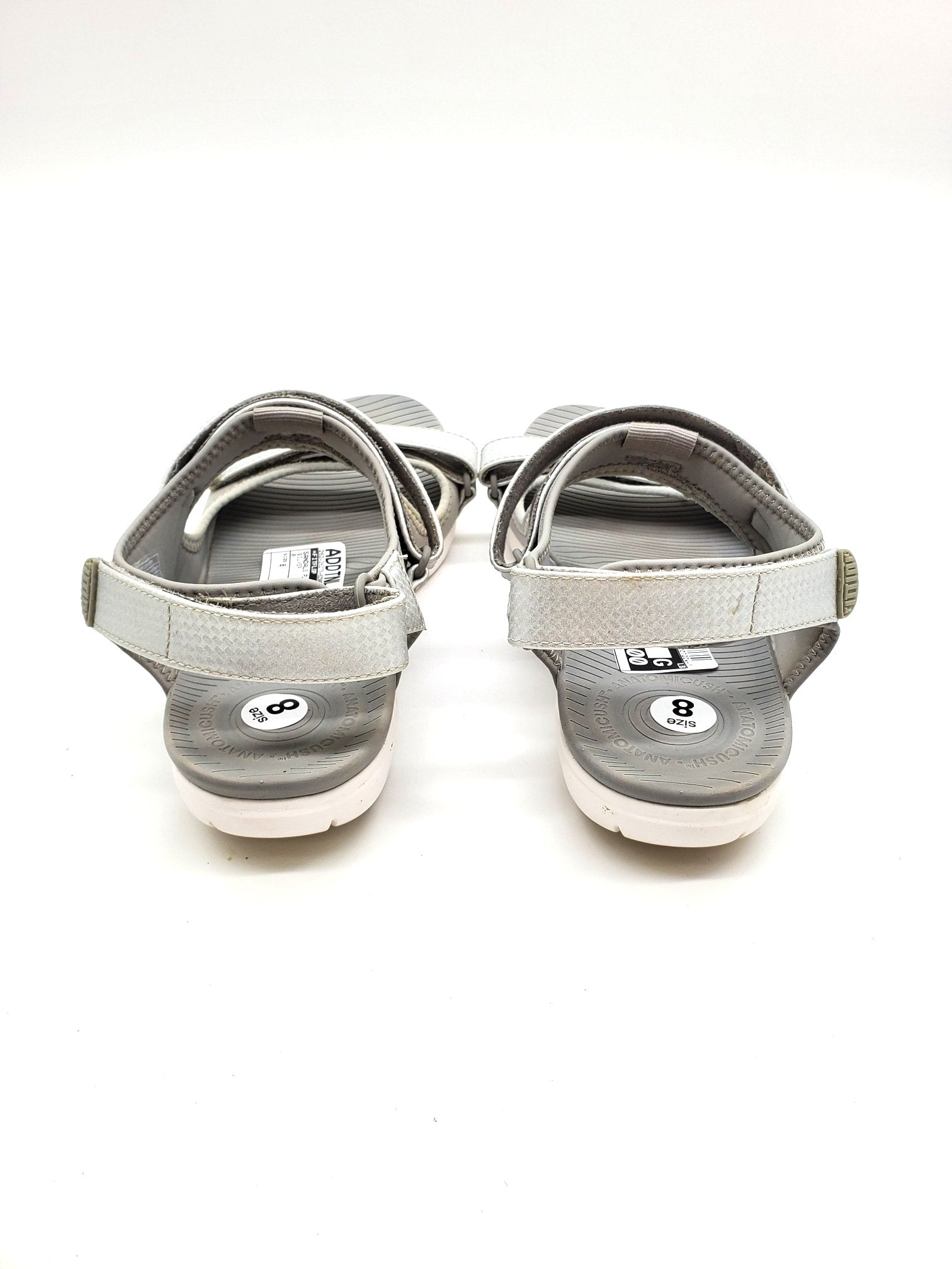 Photo #2 - BRAND: FITFLOP <BR>STYLE: SANDALS FLAT <BR>COLOR: SILVER <BR>SIZE: 8 <BR>SKU: 262-26275-62388<BR>AS IS