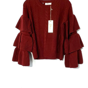 Primary Photo - BRAND: ELAN STYLE: SWEATER LIGHTWEIGHT COLOR: MAROON SIZE: S SKU: 262-26275-73501