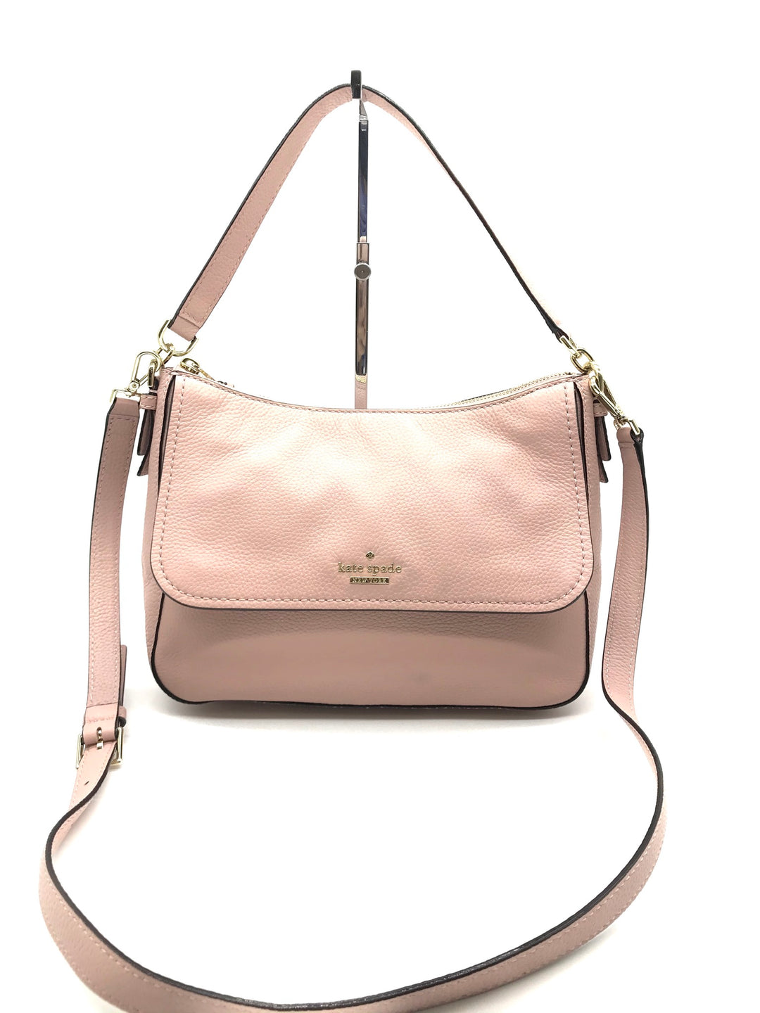 Primary Photo - BRAND: KATE SPADE <BR>STYLE: HANDBAG DESIGNER <BR>COLOR: LIGHT PINK <BR>SIZE: MEDIUM <BR>SKU: 262-26275-66916<BR>IN EXCELLENT SHAPE AND CONDITION