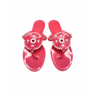 Primary Photo - BRAND: JACK ROGERS STYLE: FLIP FLOPS COLOR: PINK SIZE: 8 SKU: 262-26211-144785