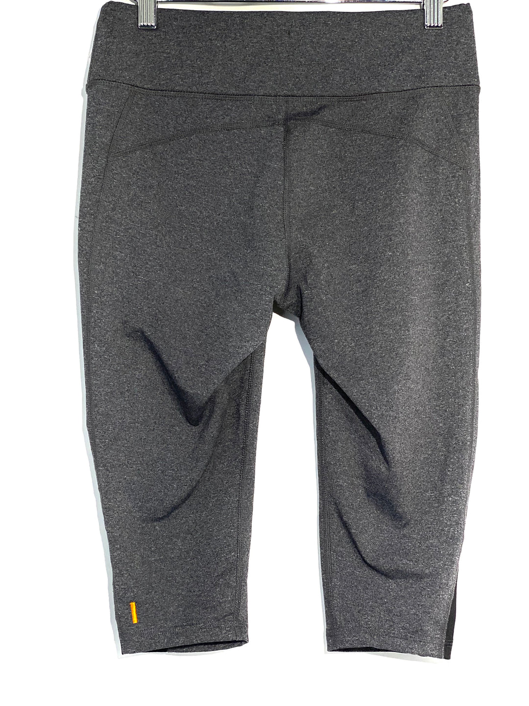 Photo #1 - BRAND: LUCY <BR>STYLE: ATHLETIC CAPRIS <BR>COLOR: GREY <BR>SIZE: S <BR>SKU: 262-26211-140446
