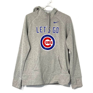 Primary Photo - BRAND: NIKE APPAREL STYLE: ATHLETIC TOP COLOR: GREY SIZE: L SKU: 262-26275-74151