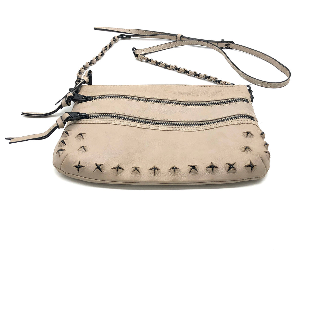 "Photo #1 - BRAND: ELLIOT LUCCA <BR>STYLE: HANDBAG <BR>COLOR: BEIGE <BR>SIZE: SMALL <BR>SKU: 262-262101-2130<BR>AS IS <BR>APPROX 10""X8""X0.5""<BR>"