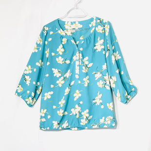 Primary Photo - BRAND: ANN TAYLOR LOFT STYLE: TOP LONG SLEEVE COLOR: FLORAL SIZE: M SKU: 262-26275-73750