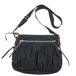 "Primary Photo - BRAND: MZ WALLACE STYLE: HANDBAG DESIGNER COLOR: BLACK SIZE: MEDIUM SKU: 262-26275-74931AS IS DESIGNER BRAND FINAL SALE APPROX 11""X10""X2"""