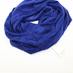 Primary Photo - BRAND: CALVIN KLEIN STYLE: SCARF COLOR: ROYAL BLUE SKU: 262-26275-69083AS IS
