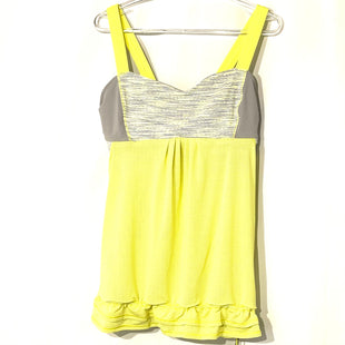 Primary Photo - BRAND: LULULEMON STYLE: ATHLETIC TANK TOP COLOR: YELLOW SIZE: 12 SKU: 262-26275-74605DESIGNER FINAL