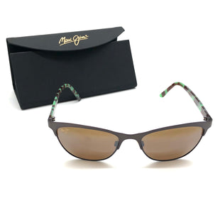 Primary Photo - BRAND:  MAUI JIMSTYLE: SUNGLASSES COLOR: GREEN OTHER INFO: MAUI JIM - SKU: 262-26241-47386DESIGNER BRAND FINAL SALE AS IS