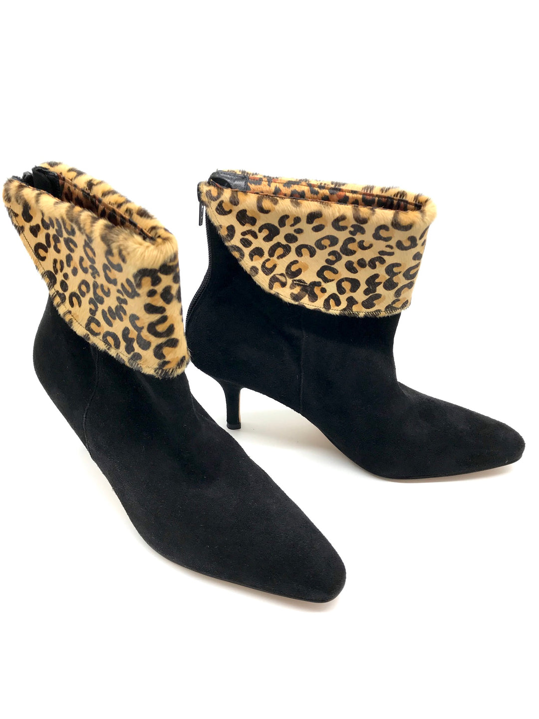 Photo #2 - BRAND:  DEZARIO<BR>STYLE: BOOTS ANKLE <BR>COLOR: BLACK <BR>SIZE: 8 <BR>SKU: 262-26211-139805<BR>GENTLE WEAR ON CORNERS - AS IS
