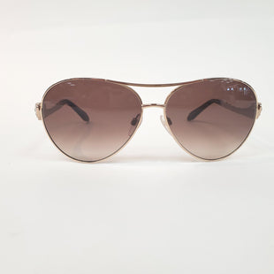 Primary Photo - BRAND: ROBERTO CAVALLI STYLE: SUNGLASSES COLOR: GOLD, BROWN SKU: 262-26241-40658AS IS DESIGNER ITEM FINAL SALE