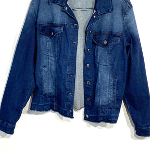 Primary Photo - BRAND: KENSIE JEANSSTYLE: JACKET OUTDOOR COLOR: DENIM SIZE: L SKU: 262-26275-65716