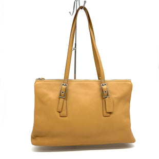 "Primary Photo - BRAND: COACH STYLE: HANDBAG DESIGNER COLOR: SAND SIZE: 10""H X 16""L X 4.5""DDROP: 10""SKU: 262-26211-143854IN GREAT SHAPE AND CONDITION"