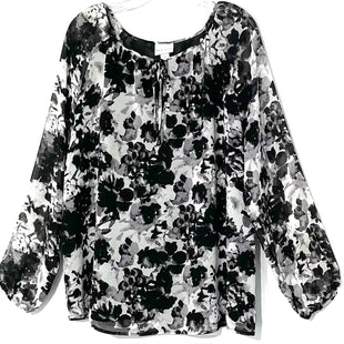Primary Photo - BRAND: AVA & VIV STYLE: TOP LONG SLEEVE COLOR: FLORAL SIZE: 1X SKU: 262-26285-2937