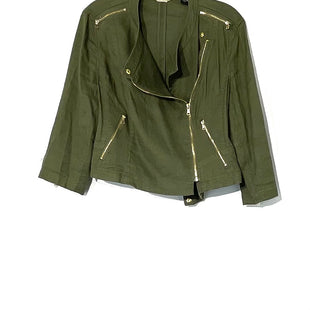 Primary Photo - BRAND: CHICOS STYLE: TOP LONG SLEEVE COLOR: OLIVE SIZE: M /1SKU: 262-26275-73666