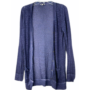 Primary Photo - BRAND: JOIE STYLE: SWEATER CARDIGAN LIGHTWEIGHT COLOR: PERIWINKLE SIZE: S SKU: 262-26211-145233100% LINEN