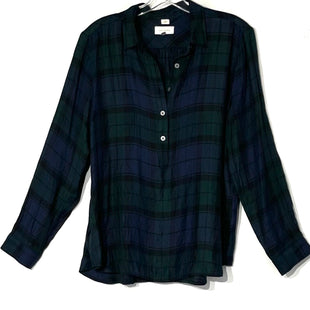 Primary Photo - BRAND: ANN TAYLOR LOFT STYLE: TOP LONG SLEEVE COLOR: PLAID SIZE: L SKU: 262-26275-75895