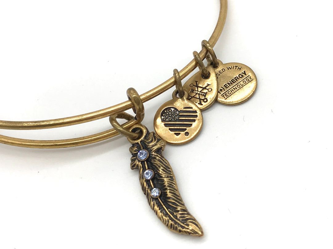Photo #1 - BRAND: ALEX AND ANI <BR>STYLE: BRACELET <BR>COLOR: GOLD <BR>SKU: 262-26275-62406<BR>AS IS