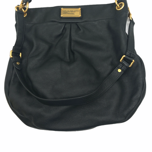 "Primary Photo - BRAND: MARC BY MARC JACOBS STYLE: HANDBAG DESIGNER COLOR: BLACK SIZE: MEDIUM OTHER INFO: AS IS SPOTS INSIDE SKU: 262-26241-48314APPROX. 13.25""L X 14""H X 2.5@D. SOME SPOTS INSIDE"