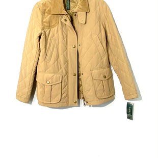 Primary Photo - BRAND: LAUREN RALPH LAUREN PETITESTYLE: JACKET OUTDOOR COLOR: TANSIZE: S PSKU: 262-26275-64842