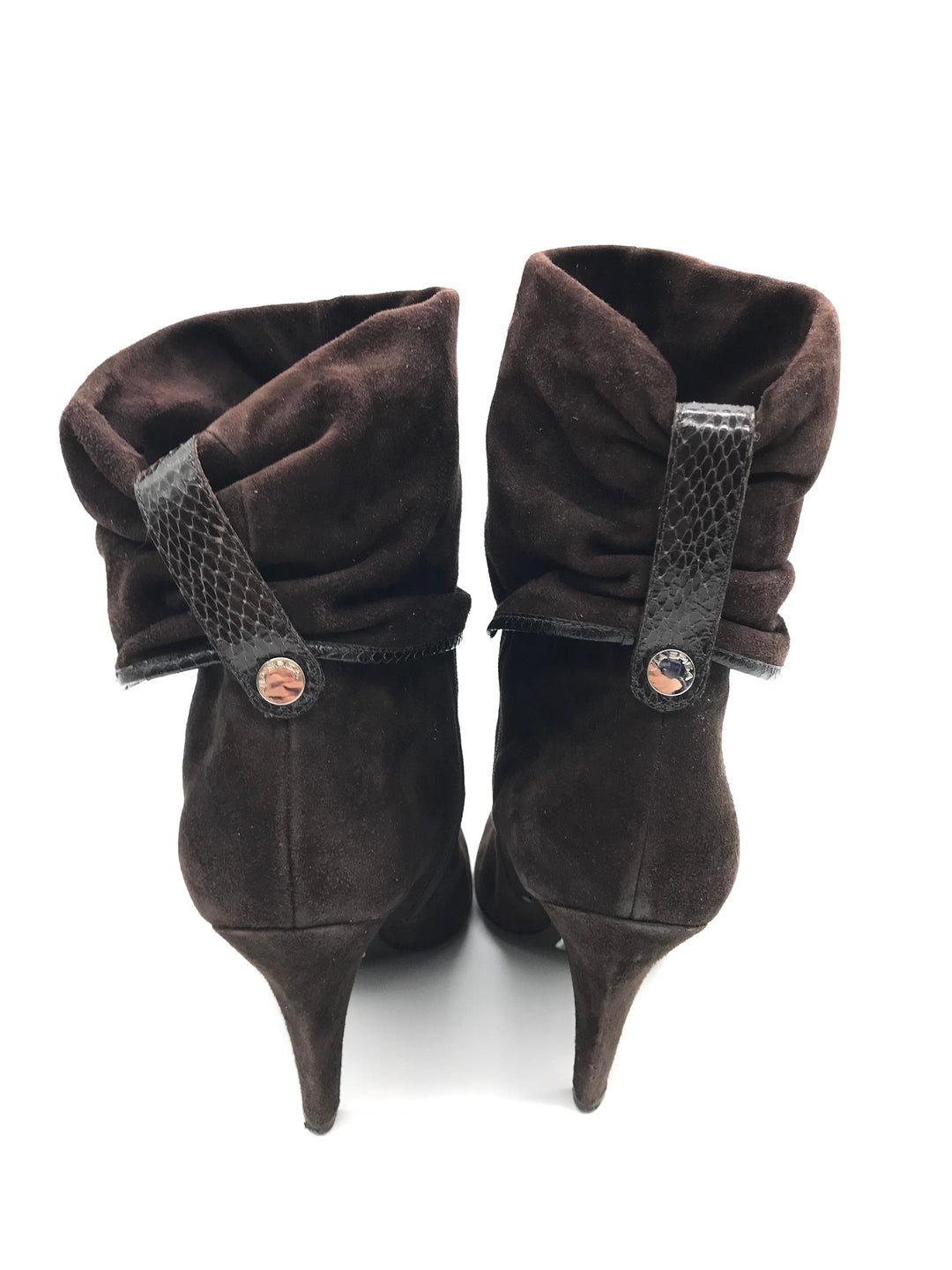 Photo #4 - BRAND: VIA SPIGA <BR>STYLE: BOOTS ANKLE <BR>COLOR: BROWN <BR>SIZE: 8.5 <BR>SKU: 262-26275-71064<BR><BR>COUPLE SLIGHT MARKS