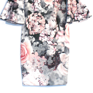 Primary Photo - BRAND: CALVIN KLEIN STYLE: DRESS SHORT LONG SLEEVE COLOR: FLORAL SIZE: S/6SKU: 262-26275-61014