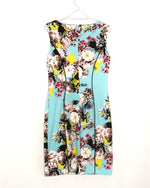 Photo #1 - BRAND: TAHARI BY ARTHUR LEVINE <BR>STYLE: DRESS SHORT SLEEVELESS <BR>COLOR: FLORAL <BR>SIZE: S/6<BR>SKU: 262-26275-58430