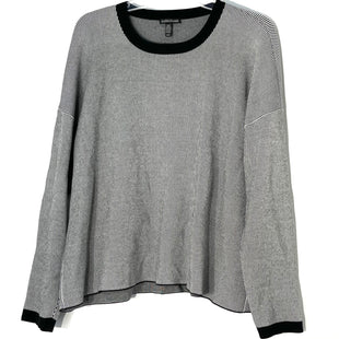 Primary Photo - BRAND: EILEEN FISHER STYLE: SWEATER HEAVYWEIGHT COLOR: STRIPED SIZE: M SKU: 262-26241-47109