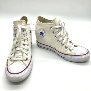 Primary Photo - BRAND: CONVERSE STYLE: SHOES ATHLETIC COLOR: OFF WHITE SIZE: 10 SKU: 262-26241-46848SLIGHT SPOTS AS IS (SEE PICS)