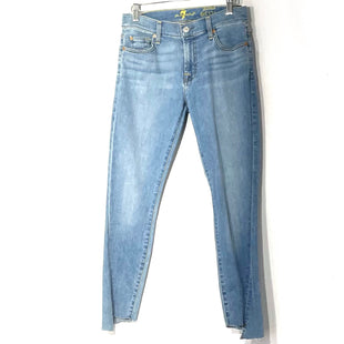 Primary Photo - BRAND: 7 FOR ALL MANKIND STYLE: JEANS COLOR: DENIM SIZE: 4 /27SKU: 262-26275-77827ANKLE SKINNY