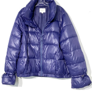 Primary Photo - BRAND: ANN TAYLOR LOFT STYLE: JACKET OUTDOOR COLOR: BLUE PURPLESIZE: XL SKU: 262-26275-68990