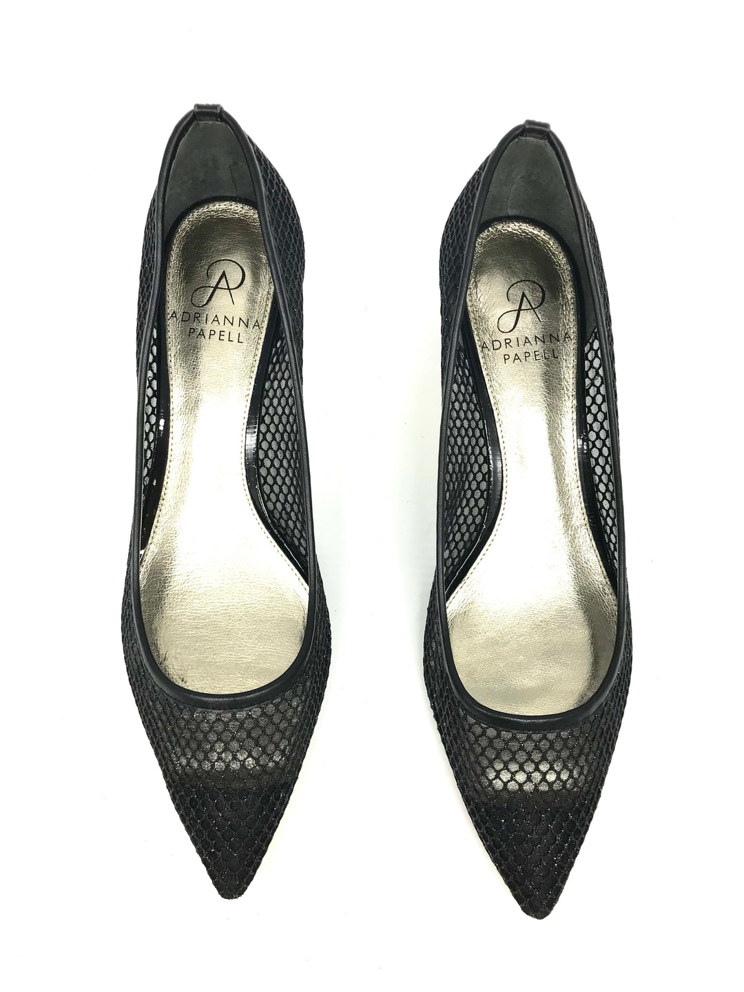 Photo #3 - BRAND: ADRIANNA PAPELL <BR>STYLE: SHOES LOW HEEL <BR>COLOR: BLACK <BR>SIZE: 8 <BR>SKU: 262-26275-70675<BR>AS IS<BR>
