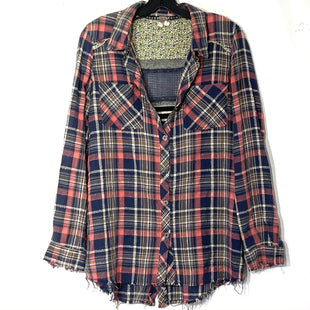 Primary Photo - BRAND: WE THE FREE STYLE: TOP LONG SLEEVE COLOR: PLAID SIZE: M SKU: 262-26275-76806