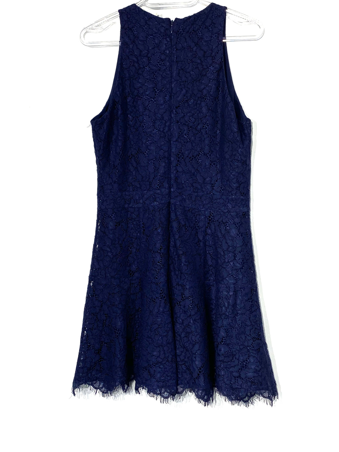 Photo #1 - BRAND: JOIE <BR>STYLE: DRESS SHORT SLEEVELESS <BR>COLOR: NAVY <BR>SIZE: S <BR>SKU: 262-26275-69822